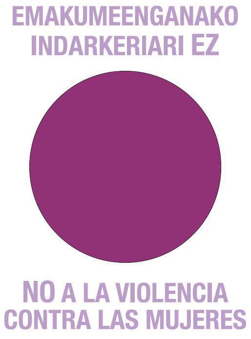 No a la violencia machista
