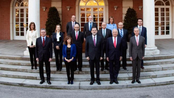 Ministros de M. Rajoy