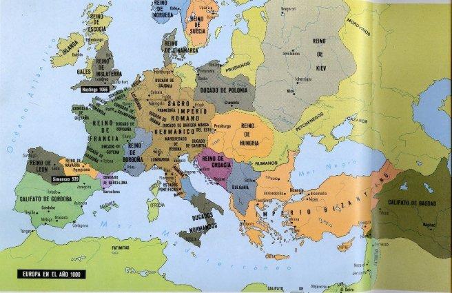 Europa, año 1000