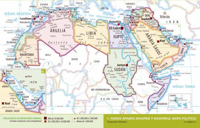Arabes, países