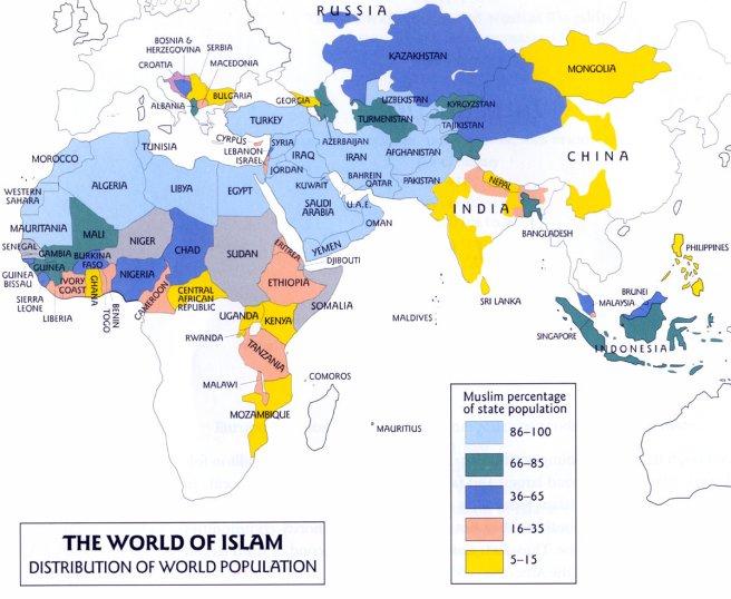 Islam, países